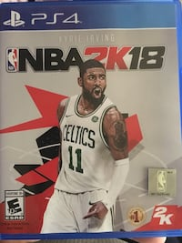 NBA 2K18 PS4 game case Los Angeles, 90002