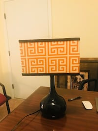 Nice orange and black lamp Charlotte, 28215