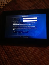 Black berry tablet works perfect 10/10 THROW ME AN OFFER LAST TIME POSTING Lawrence, 01841