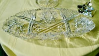 Beautiful Vintage (20's) America Cut Glass Crystal Bowl Bethesda, MD, USA
