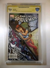 Rare Signed Spiderman comic