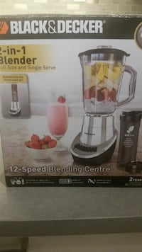 Blender 2 in 1 New in the box Port Coquitlam