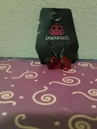 Red Paparazzi earrings never used before  Camano Island, 98282