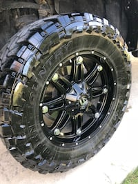 Fuel Hostage 20 inch wheels and tires Brownwood, 76801