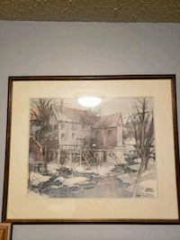 WILLIAM GARNET HAZARD PRINT  London, N5Y 5E4