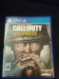 Sony ps4 ww2 with game case