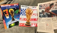 1994 Official WorldCup Gameday Programs  Farragut, 37934