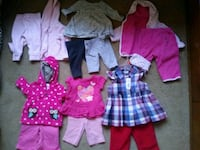 6 0-6 month outfits for 25$ Calgary, T3A 2H4