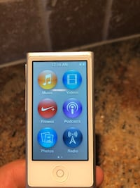 Apple iPod Nano 7th Generation Silver (16 GB) A1446 Pickering, L1V 4X8