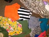 toddler's assorted clothes Tulsa, 74135