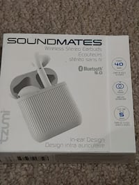 NEVER OPENED SOUNDMATES true  wireless headphones  Vancouver, V5S 2Y3