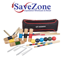 New- Triumph 6-Player All Pro Backyard Croquet Set  Mississauga