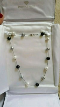 silver and white pearl necklace Douglasville, 30134