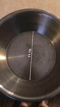 Large, heavy, thick metal stainless bowl Vaughan, L4L 1S9