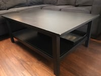 Black ikea hemnes coffee table 44 km