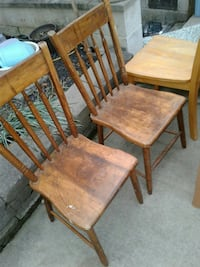 """Old"" handmade chairs (2)  Hagerstown, 21740"