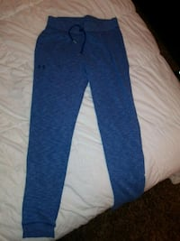 Woman's Under Armor joggers~Blue