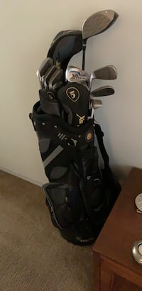 Black caddy with 10 clubs  Whittier, 90601
