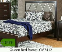 white and blue floral bed comforter set Los Angeles, 90040