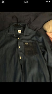 Lacotose button up size med Baltimore, 21209