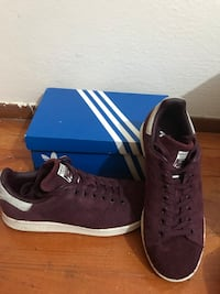 Adidas (Stan Smith) Bordo Sneakers Ayakkabı Sariyer, 34457