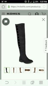 Brand new thigh high boots Bardstown, 40004