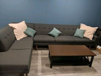 Benchmade Modern Tyler Sectional with Bumper (Price Reduced) Annandale, 22003