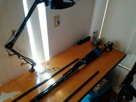 Fishing Rod..building table with materials...
