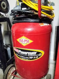 red and black Husky air compressor Moss Point, 39562