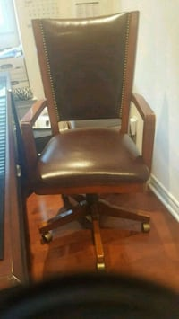 Leather home office chair Oakville, L6L 6W4