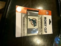 Miami Dolphins money clip Great Mills, 20653