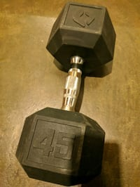 Lonely 45lb dumbell