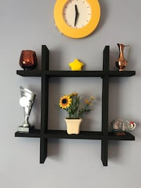 Wooden Rack - Black