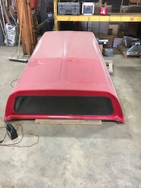 Red truck campershell 8ft. Bed Conway, 29526