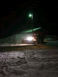Snow plowing Green Charter Township