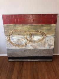 BEAUTIFUL PAINTING! Abstract large sized painting - mint condition!  Gaithersburg, 20878