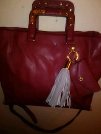 Leather red Steve Madden purse Vallejo, 94591