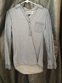 gray button-up long-sleeved shirt Citrus Heights, 95621