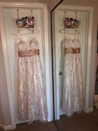 Beautiful white Prom dress  Charlotte, 28209
