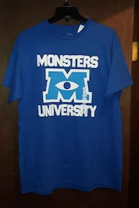 NEW Disney Monsters University T-Shirt * Large Martinsburg, WV, USA