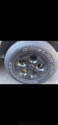 4 Tires and rims for jeep wrangler Woodbridge