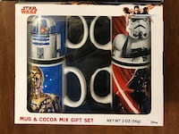 Brand new Star Wars Coffee  Mugs Ceramic 4 Mug Set ( pick up only)  Alexandria, 22310