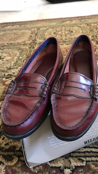 pair of brown leather loafers Woodbridge, 22191