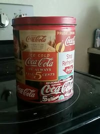 red Coca-Cola canister Mitchell, N0K 1N0