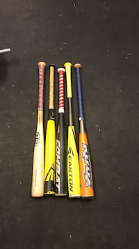 Assorted baseball bats message me if you just want one and I'll give you a price Central Saanich, V8M