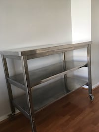 Stainless Steel Professional Bakers Table/Island  Falls Church, 22041