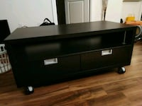 IKEA tv roller bench has scratches pick up only Toronto, M5V 1C1