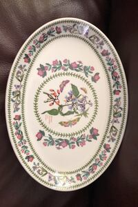 Set of eight oval portmeirion fine china plates/platter Ancaster, L9G 4M5