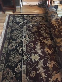 Indian wool Rug 9x12 excellent condition very thick Calgary, T1Y 1Z5