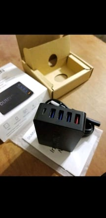 USB charging station with quick charge 3.0 new!